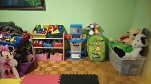 jouets appartir de 3$ ideal pour garderie