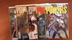 POWERS ICON #1-7 (2015/16) NM/NM+ BRIAN MICHAEL BENDIS TV SHOW