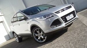 2015 Ford Kuga TF MY15 Titanium PwrShift AWD Silver 6 Speed Sports Automatic Dual Clutch Wagon Bundoora Banyule Area Preview
