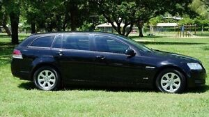 2012 Holden Commodore VE II MY12 Omega Sportwagon Black 6 Speed Sports Automatic Wagon Winnellie Darwin City Preview