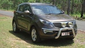 2012 Kia Sportage SL MY12 SLi Brown 6 Speed Sports Automatic Wagon Winnellie Darwin City Preview