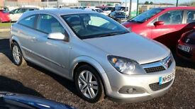 VAUXHALL ASTRA 1.4 SXI 3d 90 BHP - 360 SPIN ON WEBSITE (silver) 2007