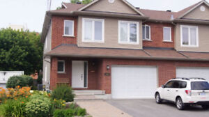 Stunning Furnished End Unit Townhouse in Ottawa East - $4,000/M