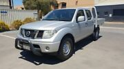 2012 Nissan Navara D40 MY12 RX (4x2) Silver 5 Speed Automatic Dual Cab Pick-up Melrose Park Mitcham Area Preview