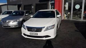 2014 Toyota Aurion GSV50R AT-X White 6 Speed Automatic Sedan Taylors Beach Port Stephens Area Preview