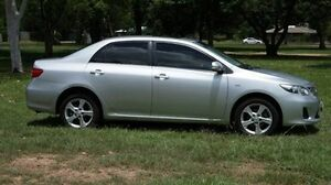 2011 Toyota Corolla ZRE152R MY11 Conquest Silver 4 Speed Automatic Sedan Winnellie Darwin City Preview
