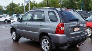 2009 Kia Sportage KM2 MY09 LX Grey 5 Speed Manual Wagon Winnellie Darwin City Preview