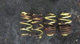Vectra C apex 35mm lowering springs