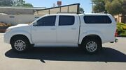 2013 Toyota Hilux KUN26R MY12 SR5 (4x4) White 4 Speed Automatic Dual Cab Pick-up Melrose Park Mitcham Area Preview