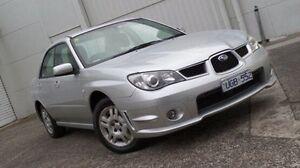 2006 Subaru Impreza S MY07 AWD Silver 4 Speed Automatic Sedan Bundoora Banyule Area Preview