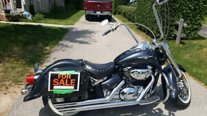 """2006 Suzuki Boulevard  C50T in Awesome Shape with 18"""" Ape Hanger"""