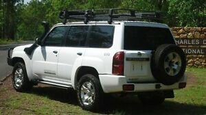 2011 Nissan Patrol GU 7 MY10 ST White 5 Speed Manual Wagon Winnellie Darwin City Preview