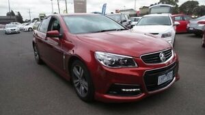 2015 Holden Commodore VF MY15 SV6 Red 6 Speed Sports Automatic Sedan Coolaroo Hume Area Preview
