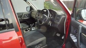 2007 Mitsubishi Pajero NS VR-X Red 5 Speed Sports Automatic Wagon Morwell Latrobe Valley Preview