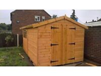 garden sheds made to measure any size or spec