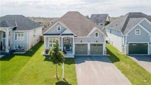 Detached Raised Bungalow On 155-Foot-Deep Lot in Wasaga Beach