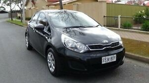2014 Kia Rio UB MY14 S Black 6 Speed Manual Hatchback Nailsworth Prospect Area Preview