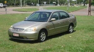 2002 Honda Civic 7th Gen MY2002 GLi Gold 4 Speed Automatic Sedan Winnellie Darwin City Preview