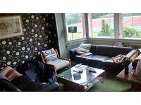 Double room in charming, bright peaceful Joppa/Portobello flat