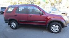 2002 Honda CR-V MY02 (4x4) Red 4 Speed Automatic Wagon West Croydon Charles Sturt Area Preview