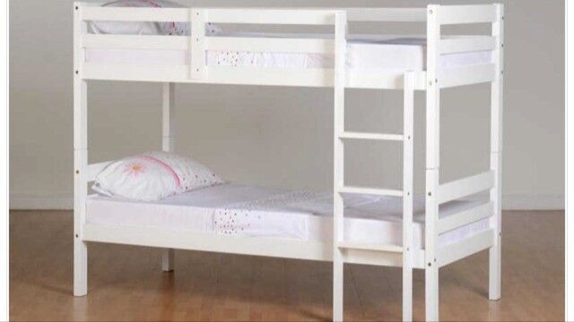 Second Hand White Wooden Bunk Beds In Southampton Hampshire Gumtree