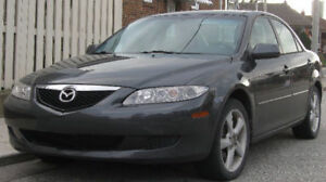 2005 Mazda Mazda6 Leather Sedan , 128000 km
