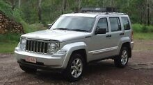 2010 Jeep Cherokee KK MY10 Limited Silver 5 Speed Sports Automatic Wagon The Narrows Darwin City Preview