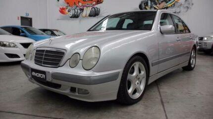 2001 Mercedes-Benz E200 Kompressor W210 Classic Silver Sports Automatic Sedan