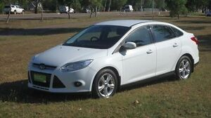 2012 Ford Focus LW Trend PwrShift White 6 Speed Sports Automatic Dual Clutch Sedan Winnellie Darwin City Preview