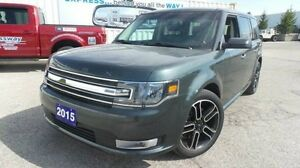 2015 Ford Flex SEL | AWD | Lthr | Moon | Demo!