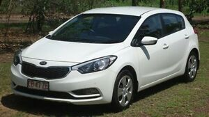 2014 Kia Cerato YD MY14 S White 6 Speed Sports Automatic Hatchback Winnellie Darwin City Preview