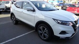 2018 Nissan Qashqai J11 Series 2 ST X-tronic Ivory Pearl 1 Speed Constant Variable Wagon Devonport Devonport Area Preview