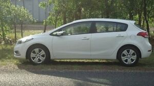 2015 Kia Cerato YD MY15 S White 6 Speed Sports Automatic Hatchback Winnellie Darwin City Preview