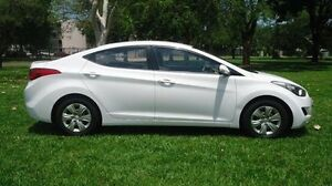 2013 Hyundai Elantra MD2 Active White 6 Speed Sports Automatic Sedan Winnellie Darwin City Preview