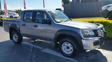 2008 Mazda BT-50 UNY0E4 DX Grey Manual Utility Taylors Beach Port Stephens Area Preview