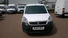 Peugeot Partner L1 850 S 1.6 92PS (SLD) EURO 5 DIESEL MANUAL WHITE (2015)