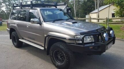 2008 Nissan Patrol  Silver Automatic Wagon Petrie Pine Rivers Area Preview