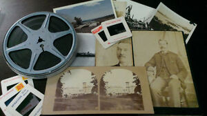 Buying Old Photos, Home Movies, Negatives, Slides, Stereoviews