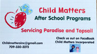 $14/Day! Child Matters and Paradise Afterschool Program Inc