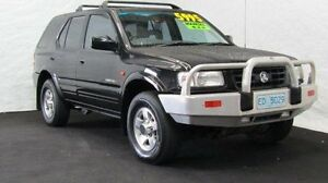 1999 Holden Frontera MX S (4x4) Ebony Black 5 Speed Manual 4x4 Wagon Derwent Park Glenorchy Area Preview