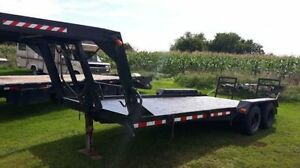 for sale      2-    gooseneck's    1-    5th wheel