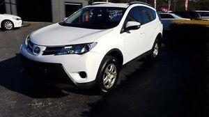 2015 Toyota RAV4 ASA44R MY14 Upgrade GX (4x4) White 6 Speed Automatic Wagon Taylors Beach Port Stephens Area Preview