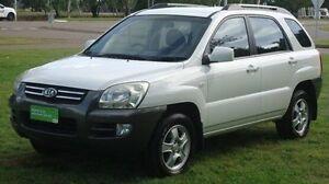 2007 Kia Sportage KM2 LX White 5 Speed Manual Wagon Winnellie Darwin City Preview