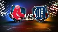 Detroit Tigers Vs Boston Red Sox 3 Game Series August 7,8,9