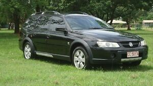 2004 Holden Adventra VZ (VY II) CX8 Black 4 Speed Automatic Wagon Winnellie Darwin City Preview