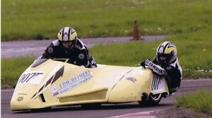 2 person Racing motorcycle Sidecar for sale...very fast