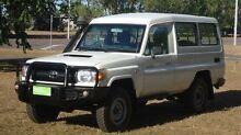 2011 Toyota Landcruiser VDJ78R MY10 Workmate Troopcarrier White 5 Speed Manual Wagon Winnellie Darwin City Preview