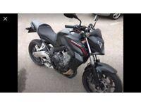 Honda CB650F ABS, Matt black, loads of extras, mint condition