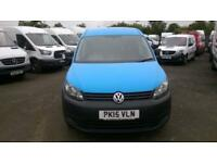 Volkswagen Caddy 1.6 MAXI 102PS STARTLINE EURO 5 DIESEL MANUAL BLUE (2015)