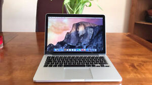 "Macbook retina 256 SSD 13"" 8Gb RAM"